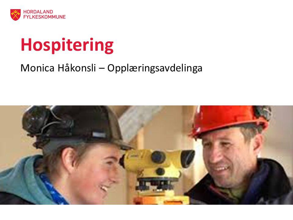 Monica Håkonsli – Opplæringsavdelinga