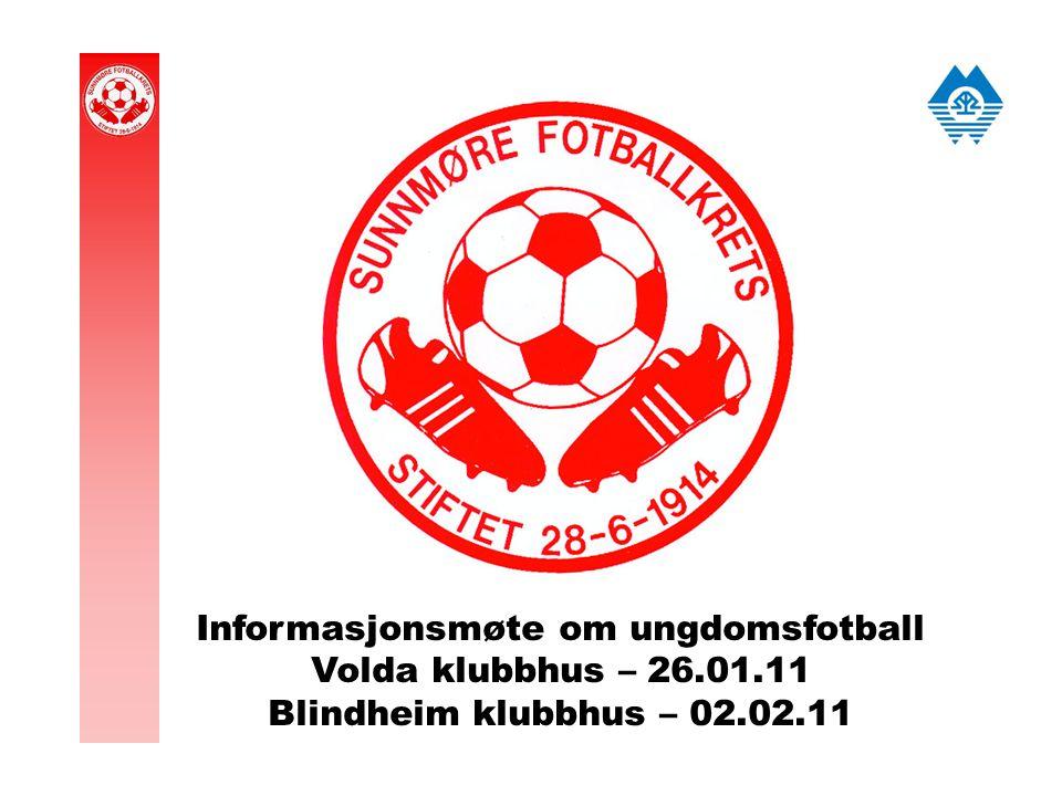 Informasjonsmøte om ungdomsfotball