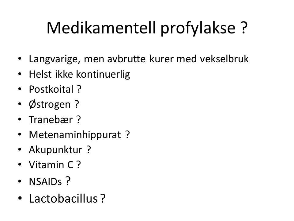 Medikamentell profylakse