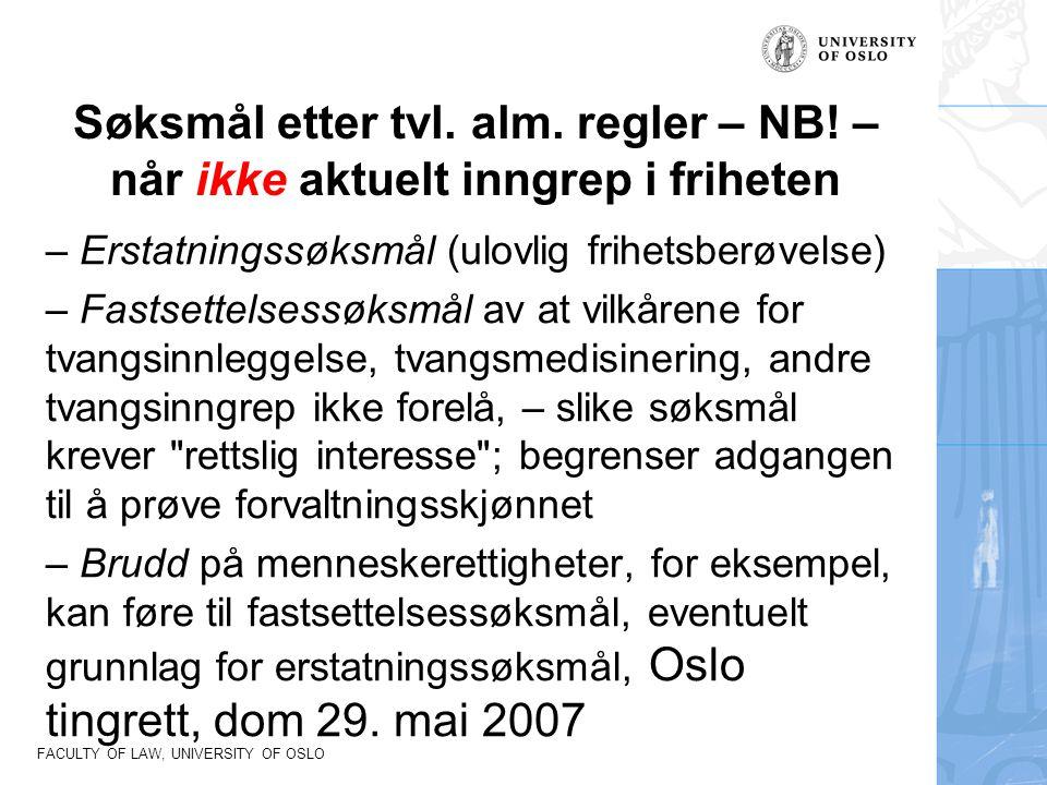 Søksmål etter tvl. alm. regler – NB