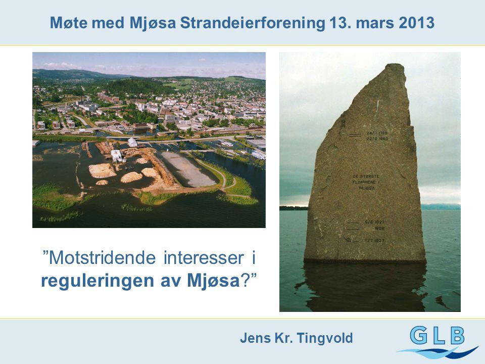 Møte med Mjøsa Strandeierforening 13. mars 2013