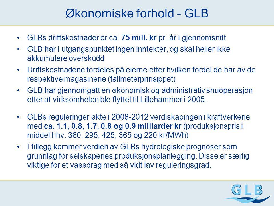 Økonomiske forhold - GLB