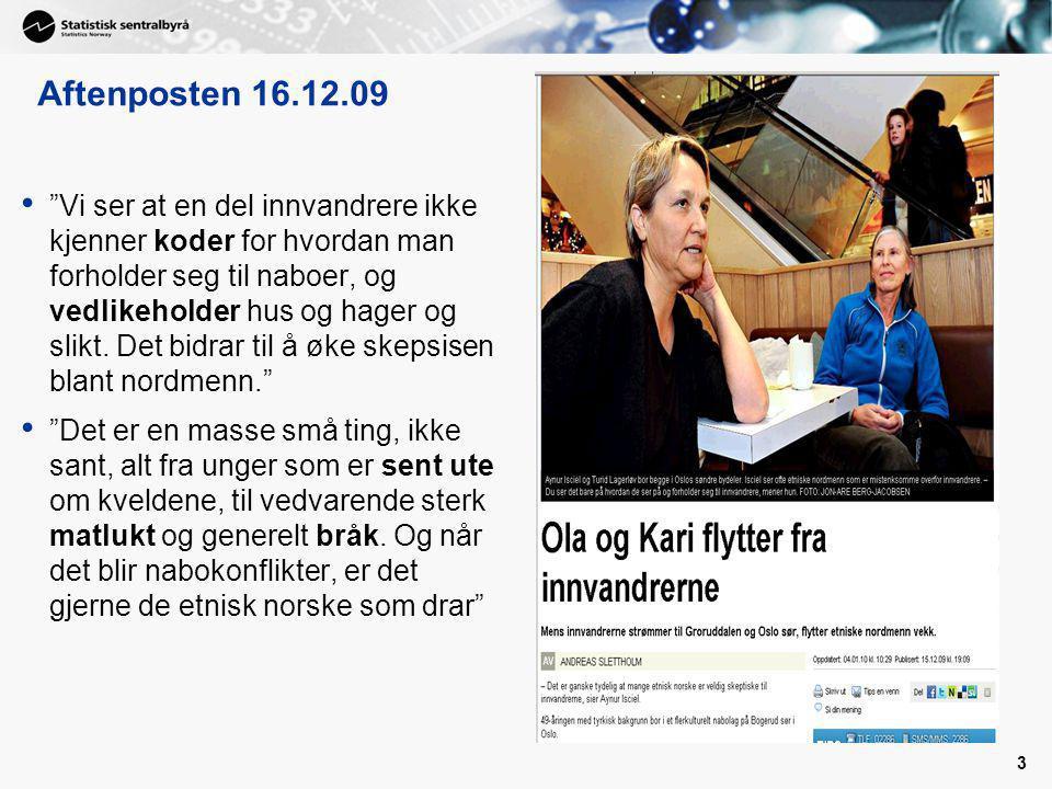Aftenposten 16.12.09
