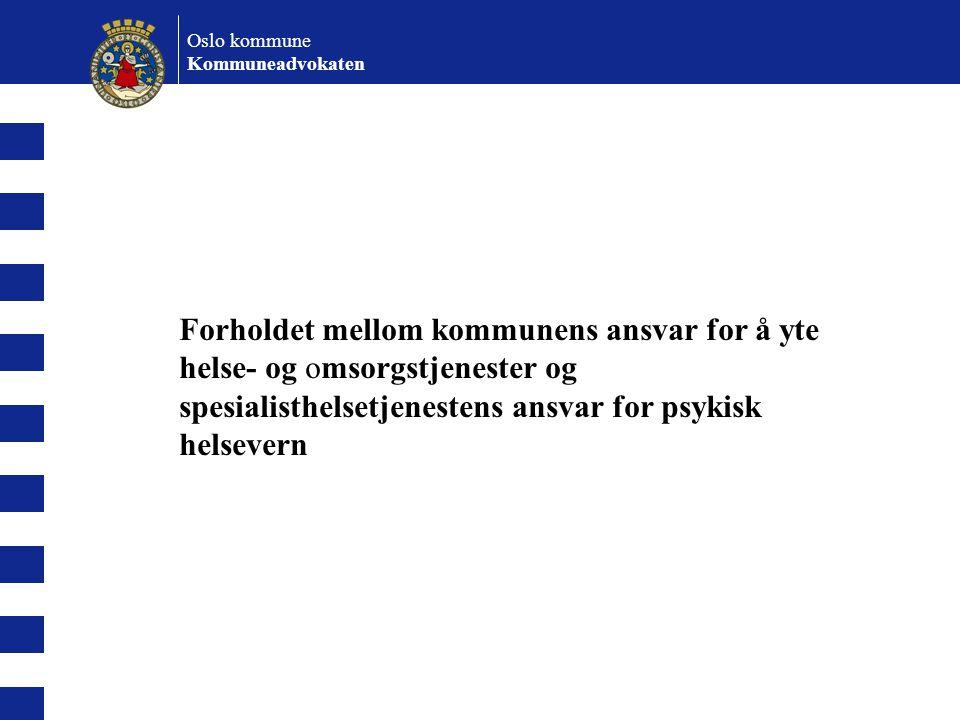 Oslo kommune Kommuneadvokaten.