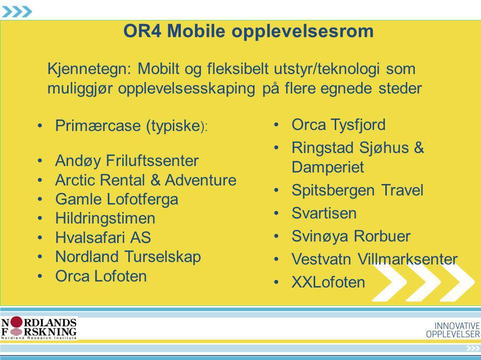 OR4 Mobile opplevelsesrom