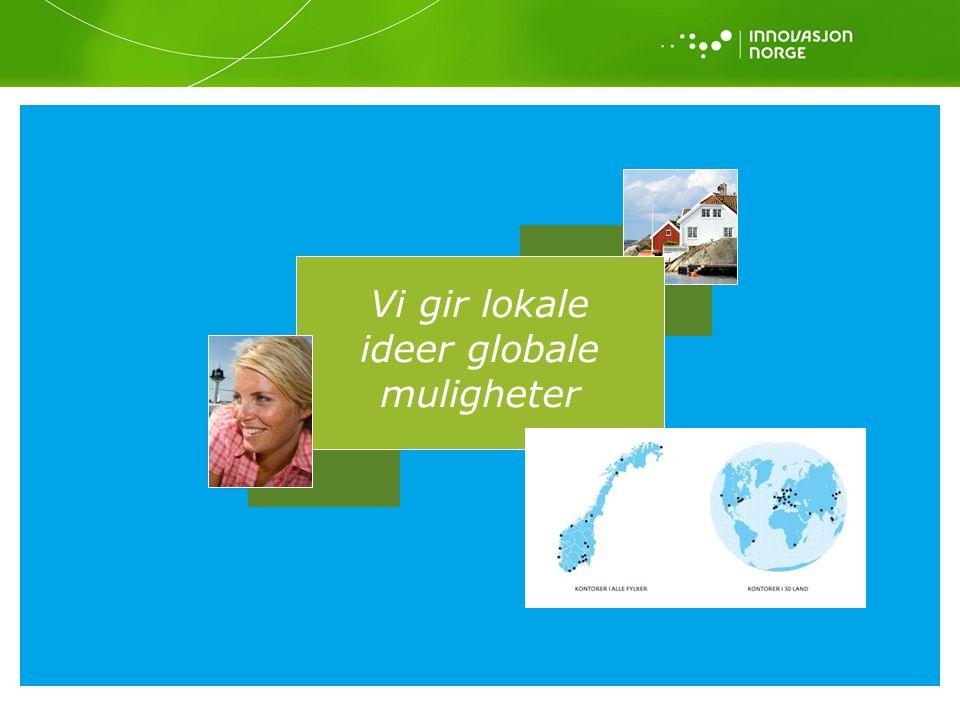 Vi gir lokale ideer globale muligheter Side 13 - Visjon og formål