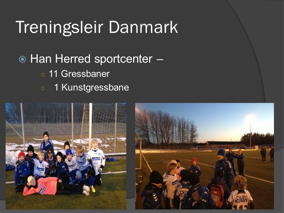 Treningsleir Danmark Han Herred sportcenter – 11 Gressbaner
