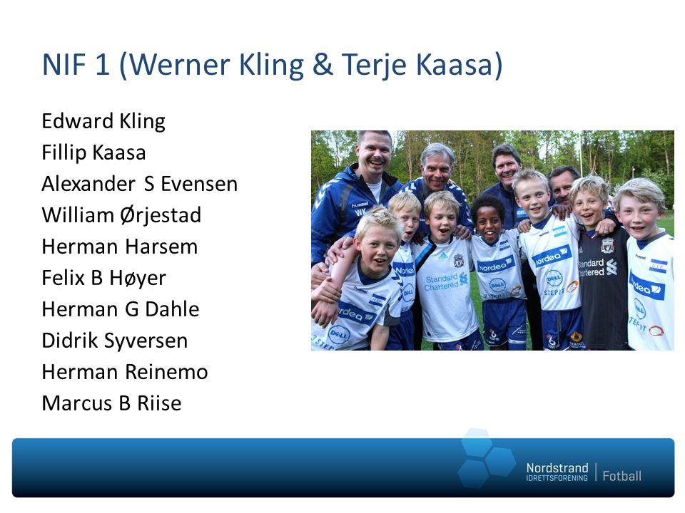 NIF 1 (Werner Kling & Terje Kaasa)