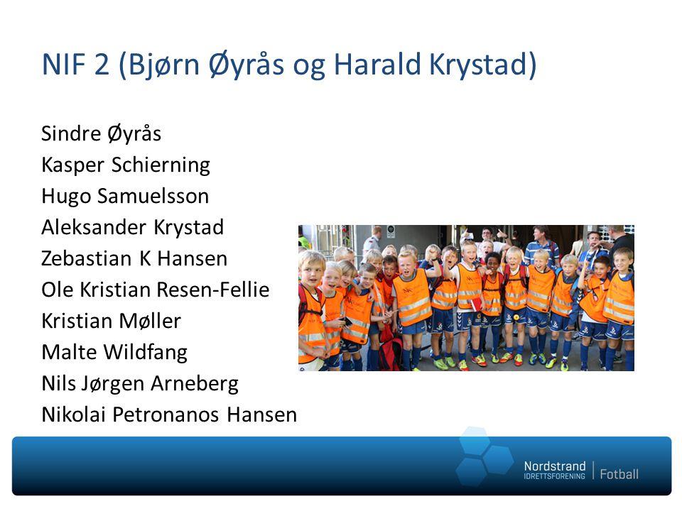 NIF 2 (Bjørn Øyrås og Harald Krystad)