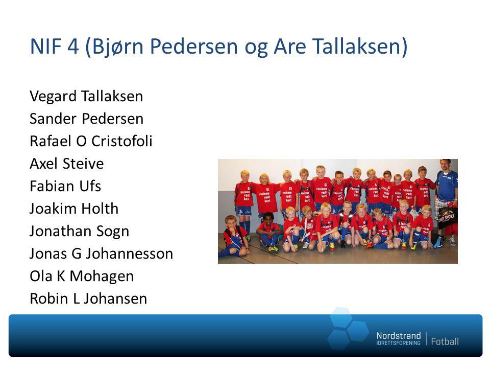 NIF 4 (Bjørn Pedersen og Are Tallaksen)