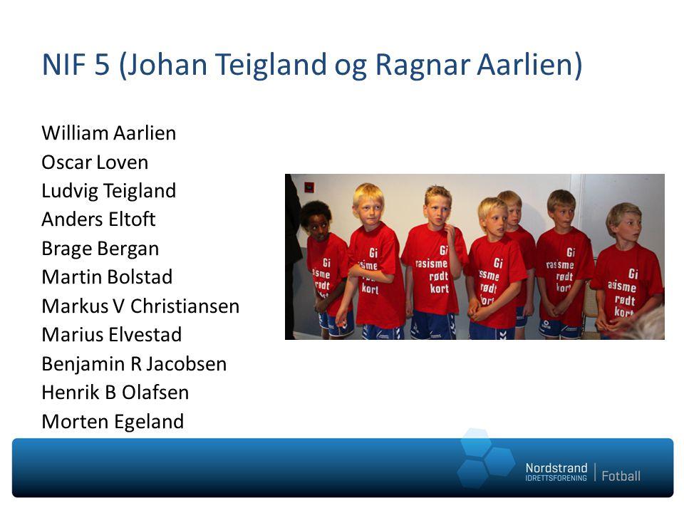 NIF 5 (Johan Teigland og Ragnar Aarlien)