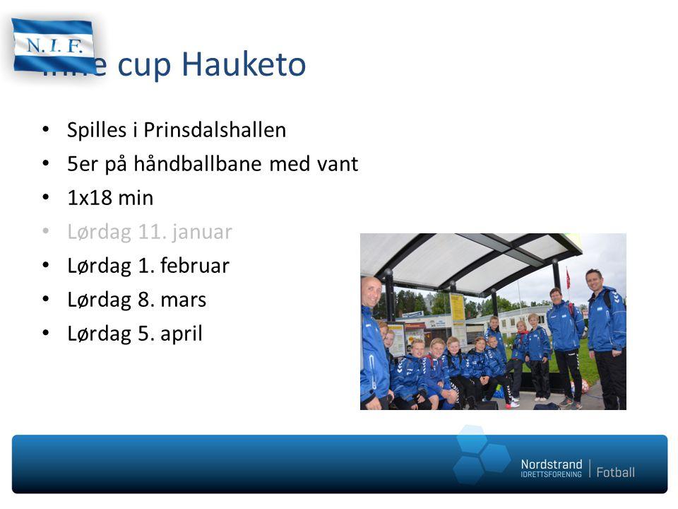 Inne cup Hauketo Spilles i Prinsdalshallen