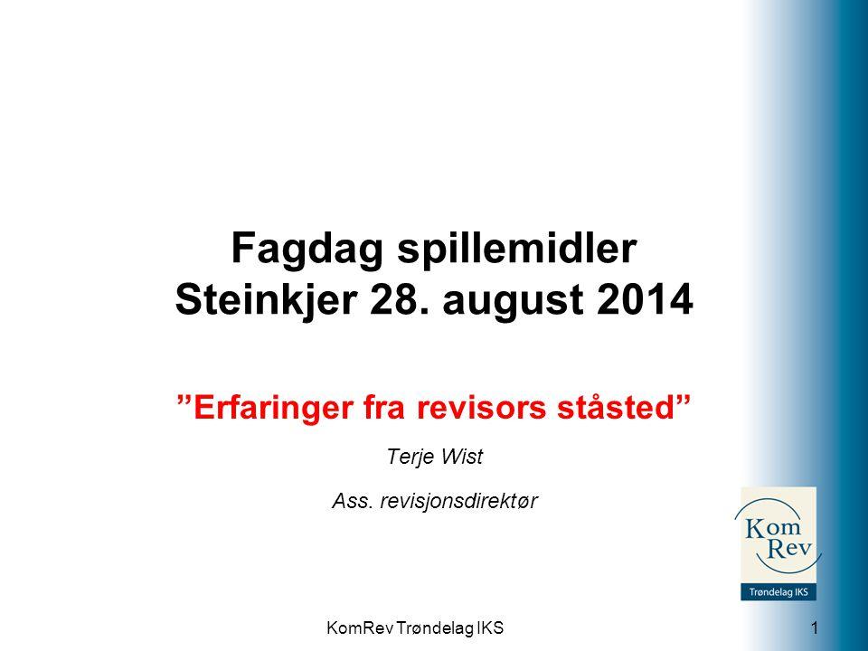 Fagdag spillemidler Steinkjer 28. august 2014