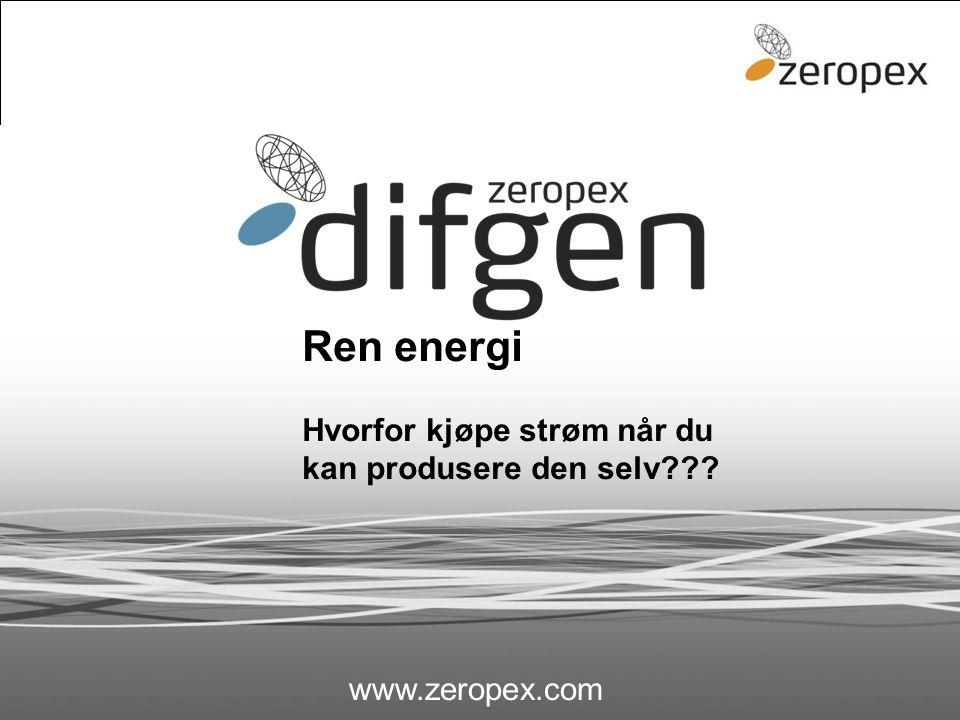 Ren energi Hvorfor kjøpe strøm når du kan produsere den selv