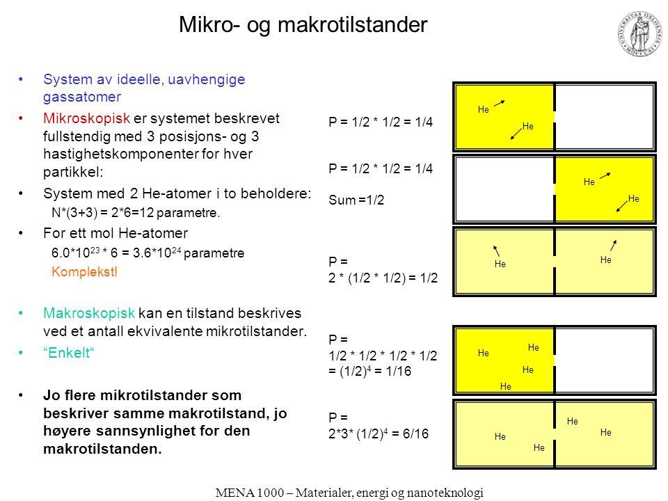 Mikro- og makrotilstander