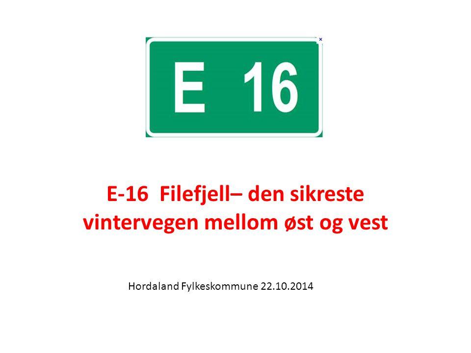 E-16 Filefjell– den sikreste vintervegen mellom øst og vest