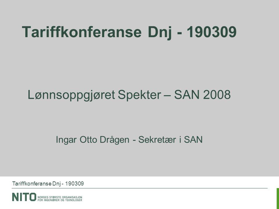 Tariffkonferanse Dnj - 190309