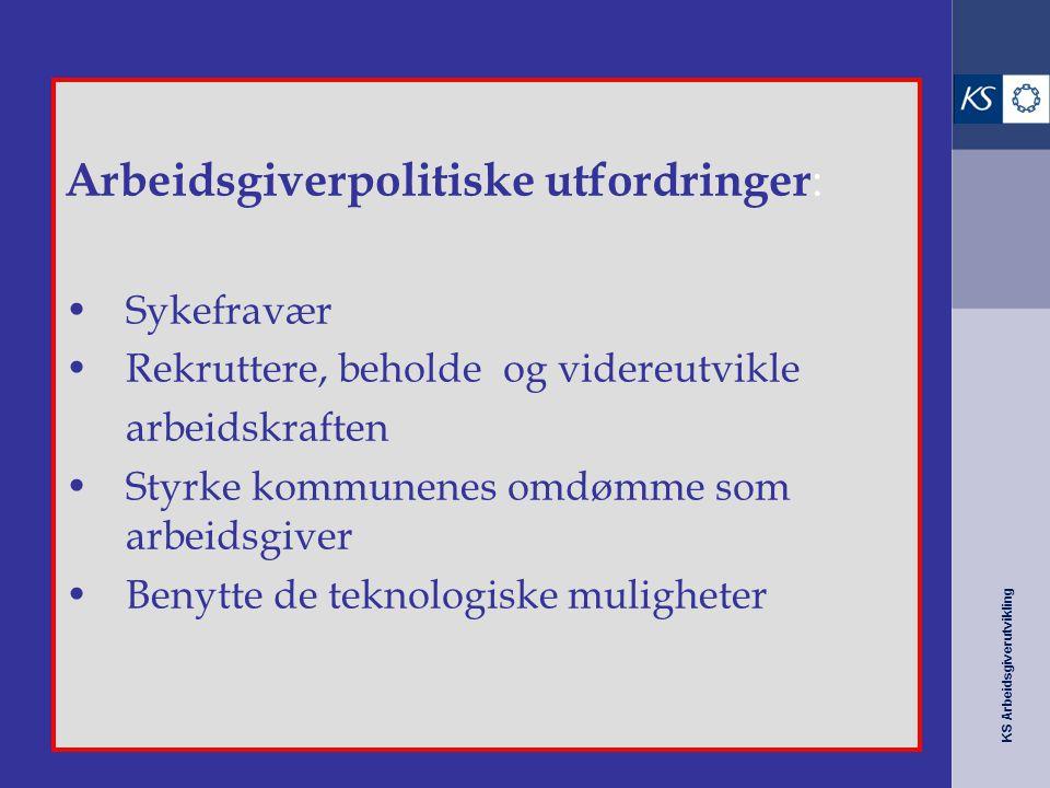 Arbeidsgiverpolitiske utfordringer: