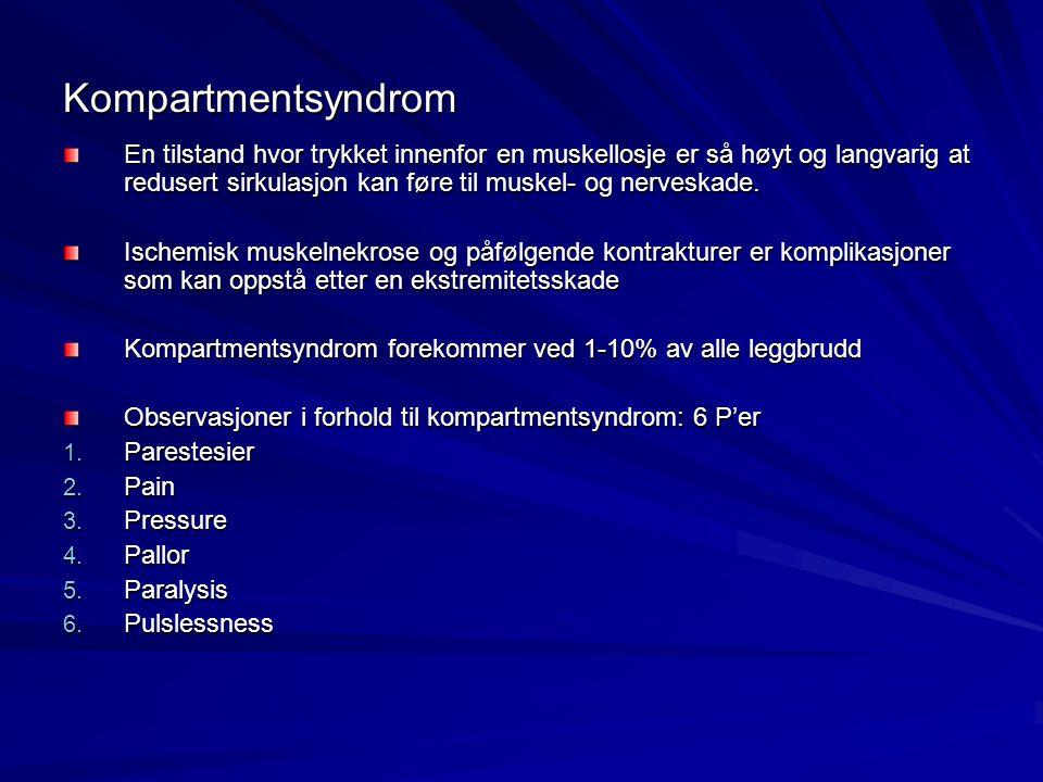 Kompartmentsyndrom