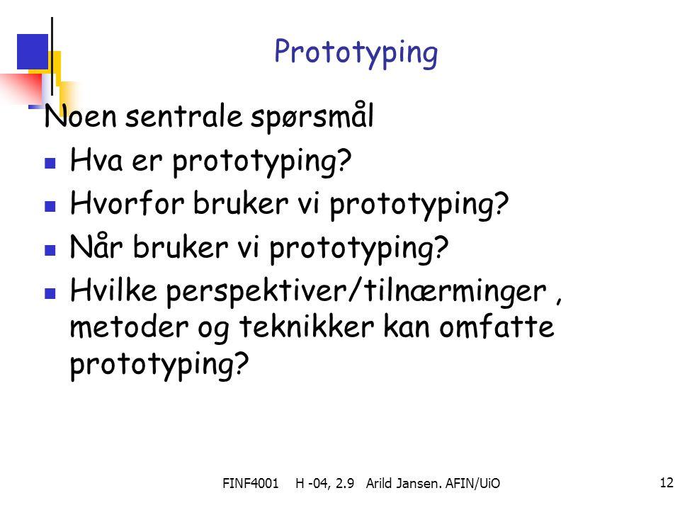 FINF4001 H -04, 2.9 Arild Jansen. AFIN/UiO
