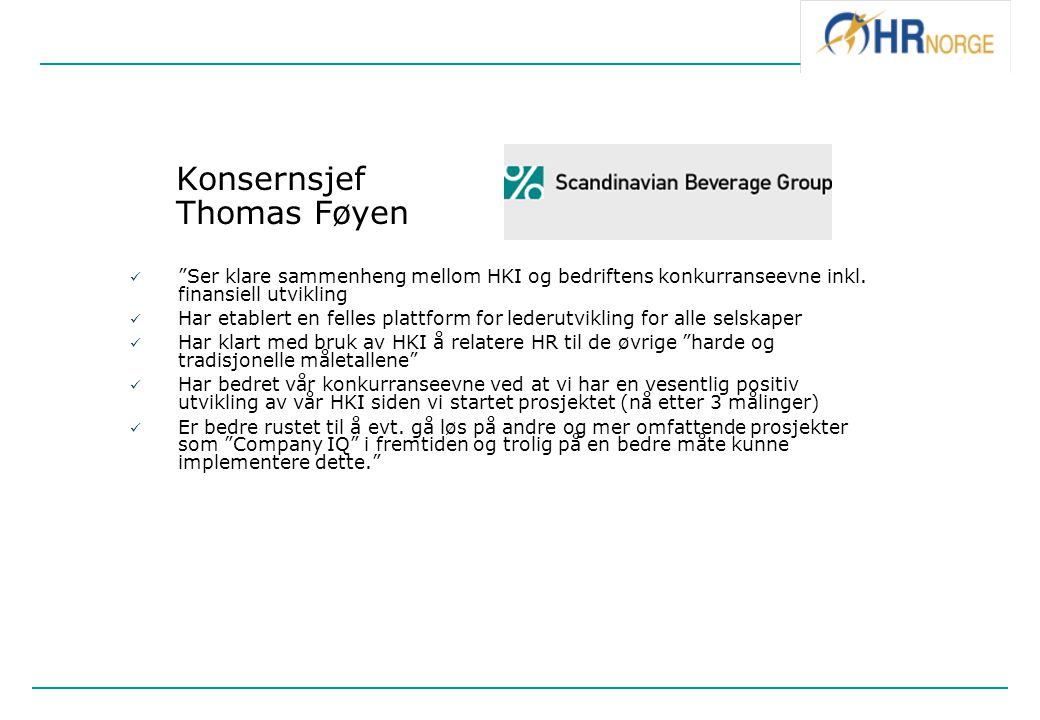 Konsernsjef Thomas Føyen