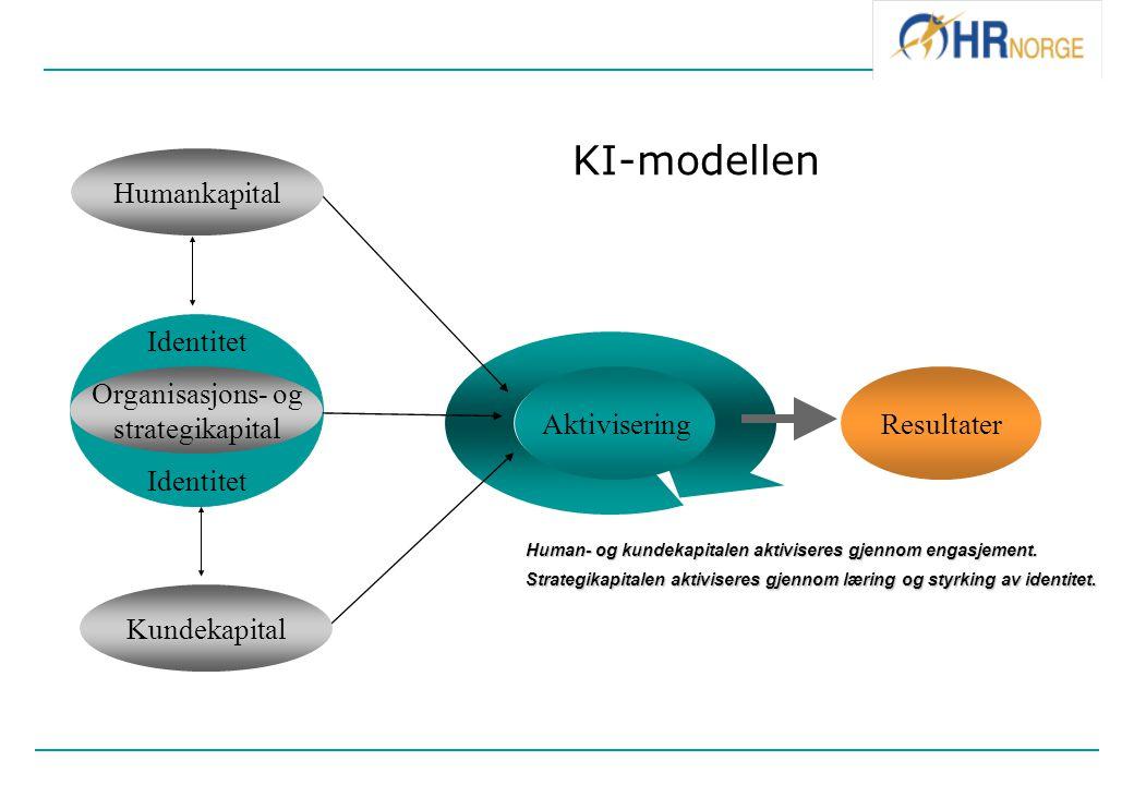 KI-modellen Humankapital Identitet Organisasjons- og strategikapital