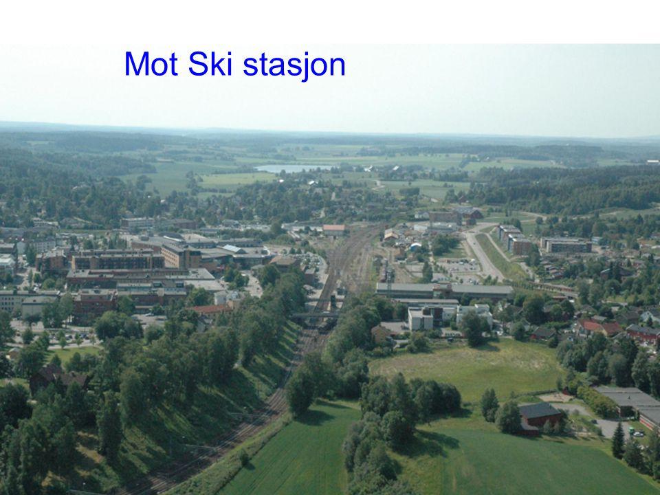 Mot Ski stasjon ° Planprogram Follobanen| 17.02.2010