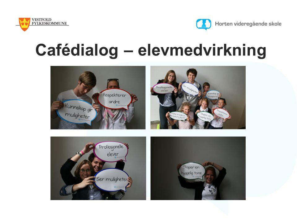 Cafédialog – elevmedvirkning