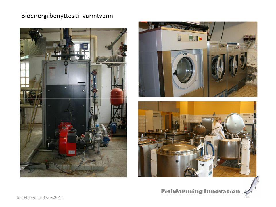 Bioenergi benyttes til varmtvann