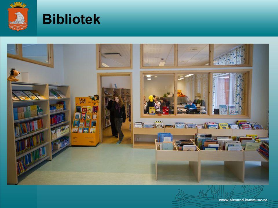 Bibliotek www.alesund.kommune.no