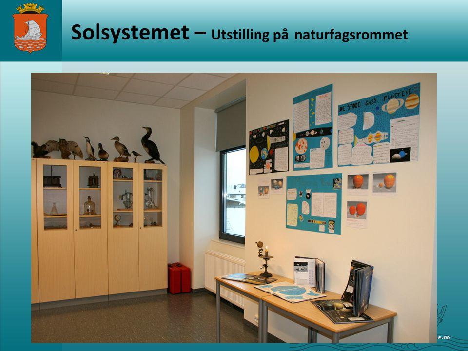 Solsystemet – Utstilling på naturfagsrommet