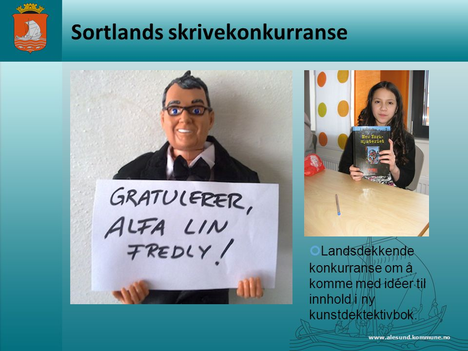 Sortlands skrivekonkurranse