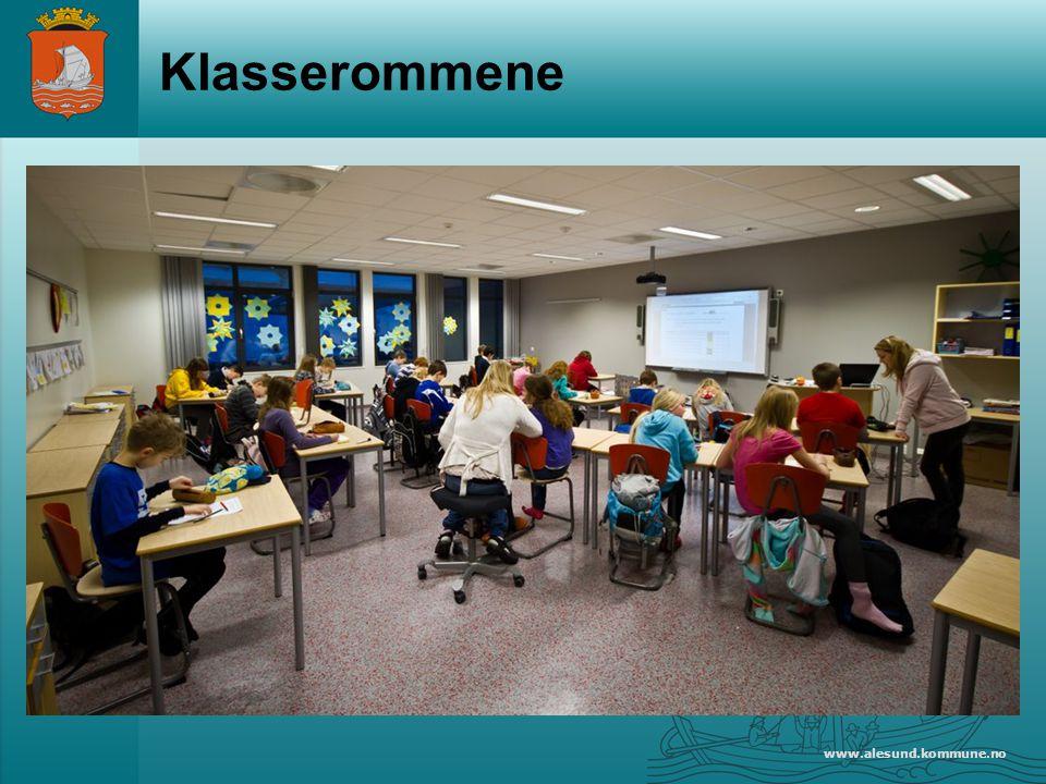 Klasserommene www.alesund.kommune.no