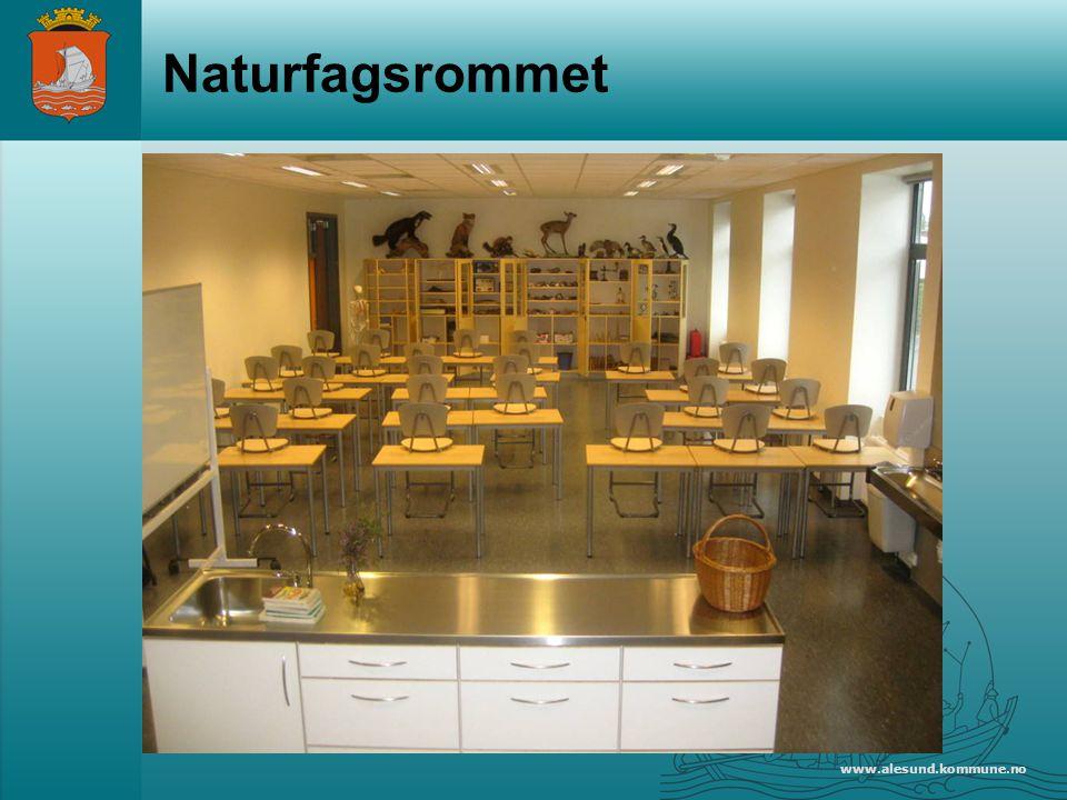 Naturfagsrommet www.alesund.kommune.no