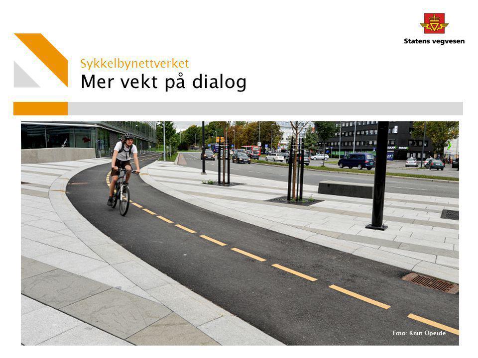 Sykkelbynettverket Mer vekt på dialog Foto: Knut Opeide