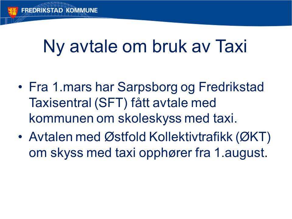 Ny avtale om bruk av Taxi