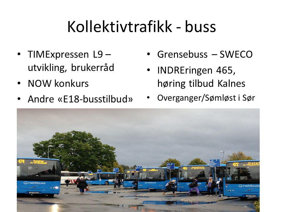 Kollektivtrafikk - buss