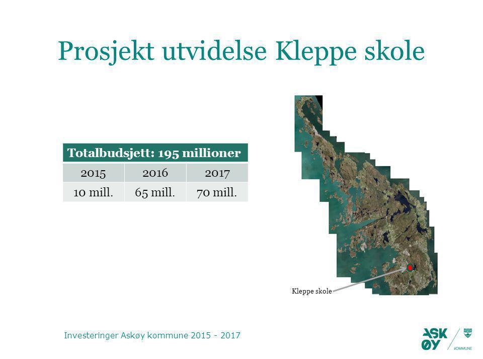Prosjekt utvidelse Kleppe skole