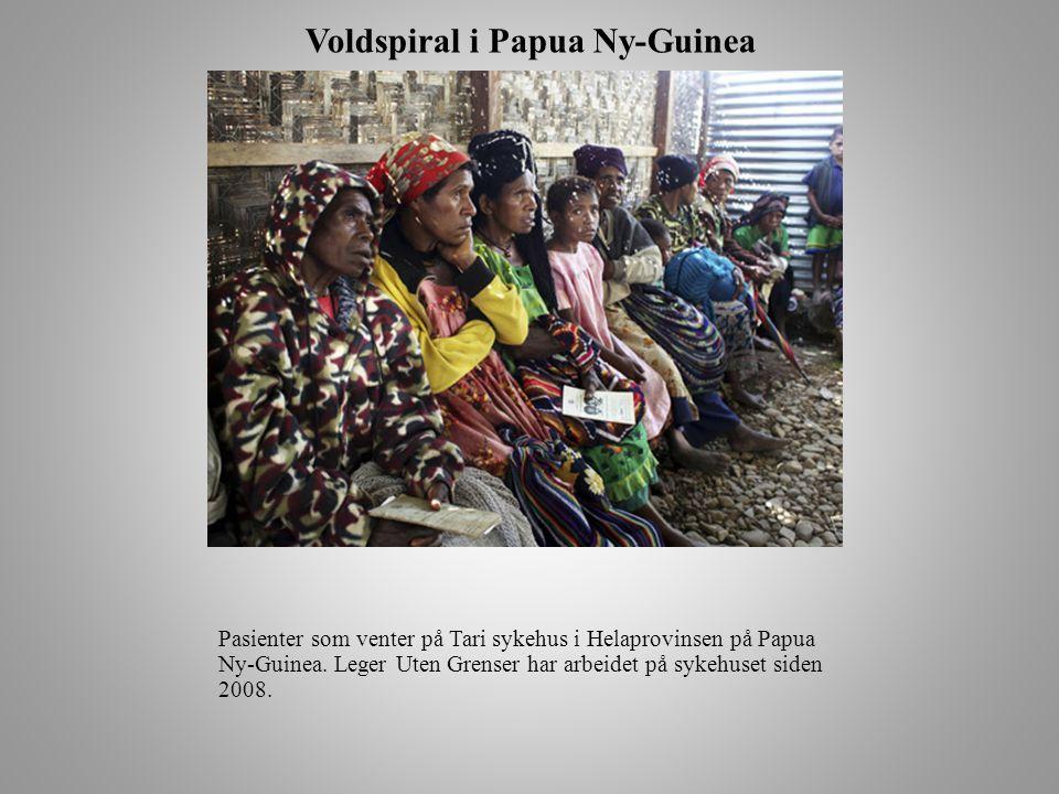 Voldspiral i Papua Ny-Guinea