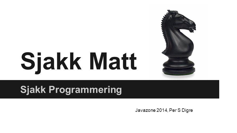 Sjakk Programmering 1. Historie 2. Hvordan Mechanical Turk, 1771