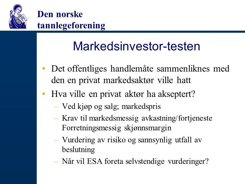 Markedsinvestor-testen