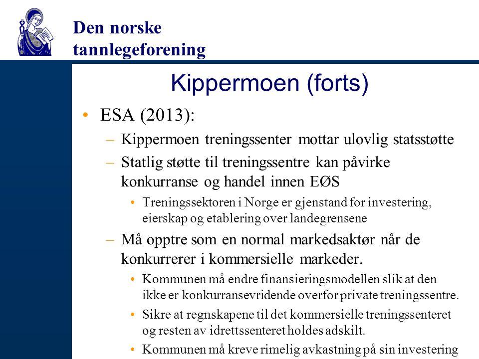 Kippermoen (forts) ESA (2013):