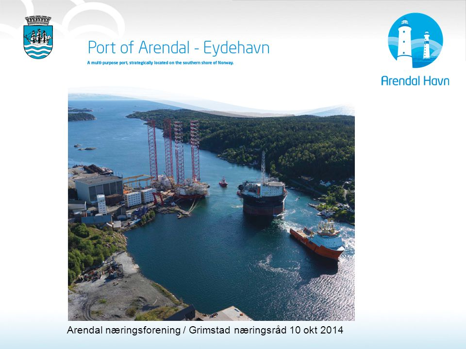 Arendal næringsforening / Grimstad næringsråd 10 okt 2014