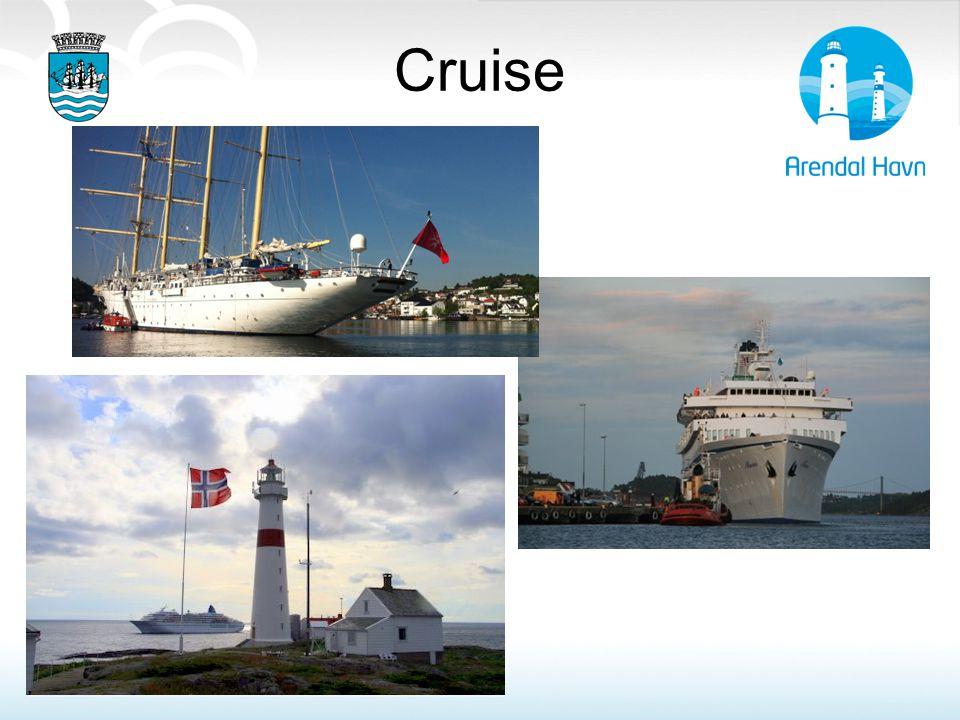 Cruise Cruise: Arendal var stor cruise destinasjon frem til 1930
