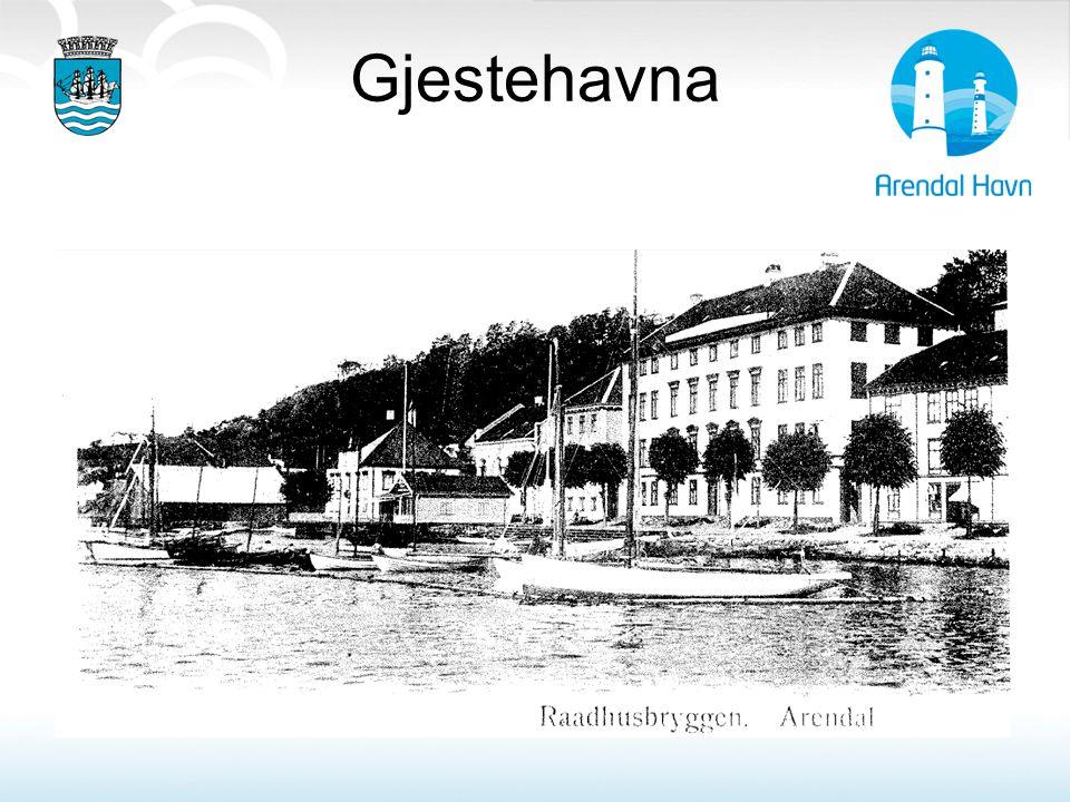 Gjestehavna Forutsetning for bygging av nye gjestehavn: vannspeil foran gml Rådhus skulle være åpent.(riksantikvar)1996)