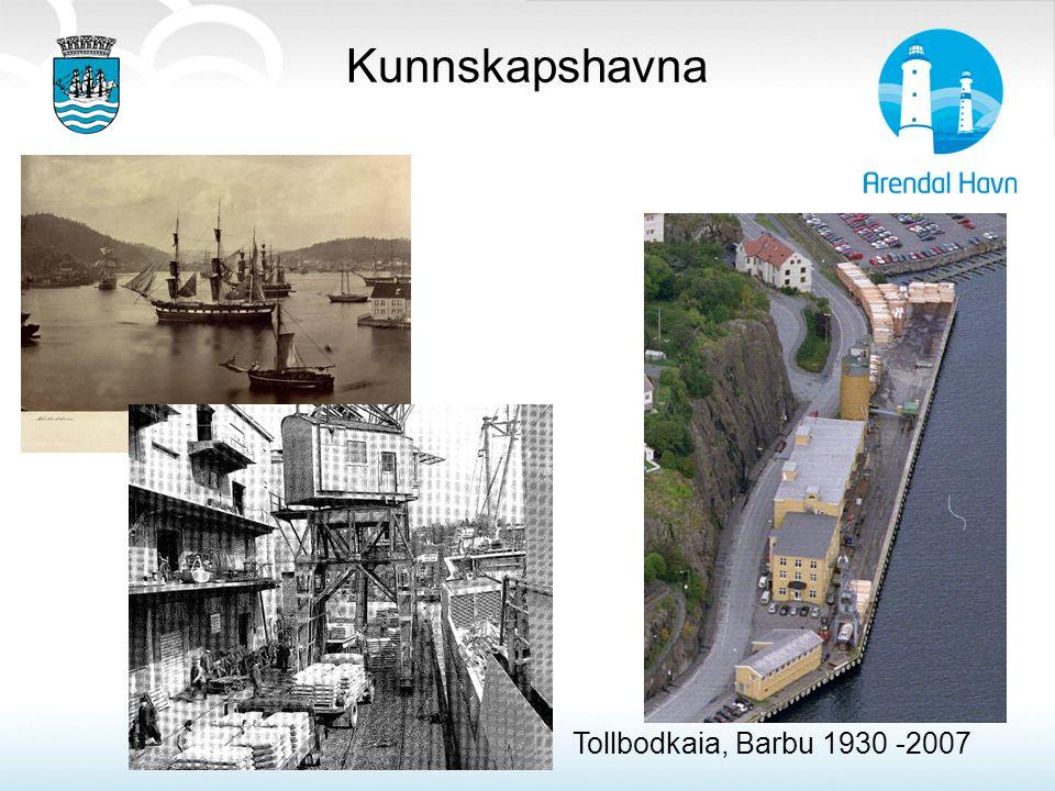 Kunnskapshavna Tollbodkaia, Barbu 1930 -2007 Trevirke & fiskeprodukter