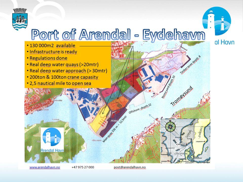 Steinuttak neste 2-3 år ( gjenstående ca 600 000tonn stein): Støy, støv og utfordrende i forhold til naboer. Store kostnader involvert i å flytte stein internt på havneområdet