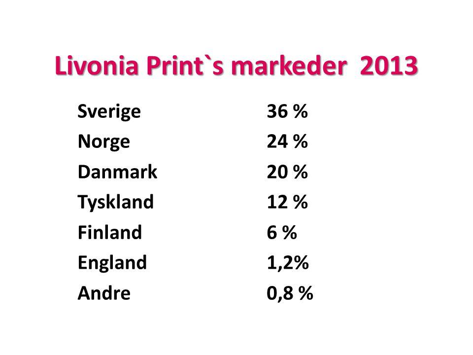 Livonia Print`s markeder 2013