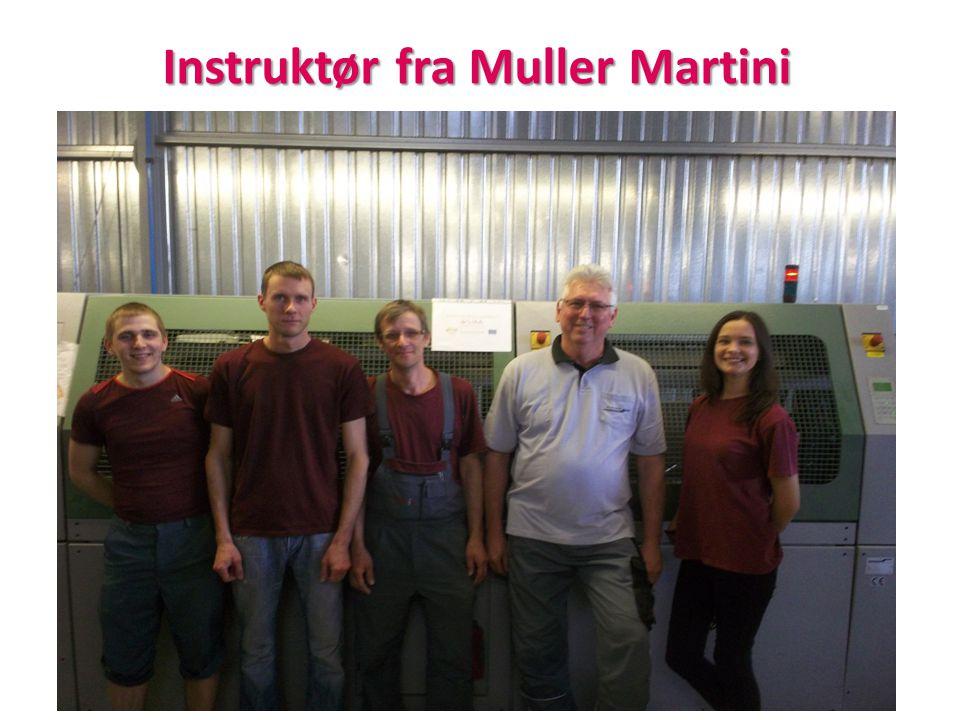 Instruktør fra Muller Martini