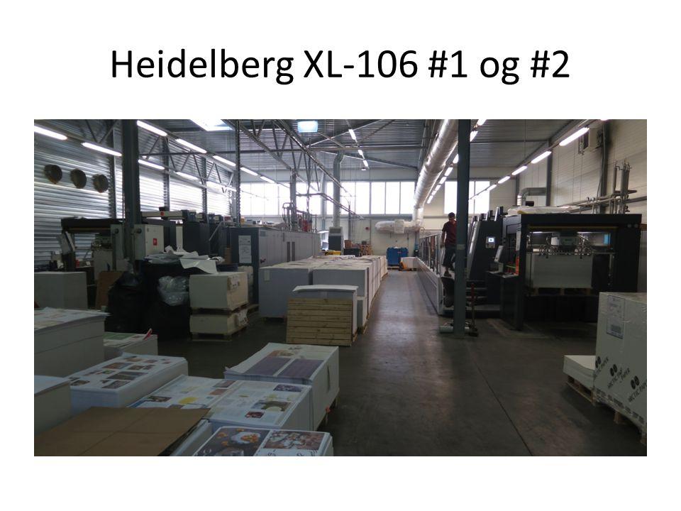 Heidelberg XL-106 #1 og #2
